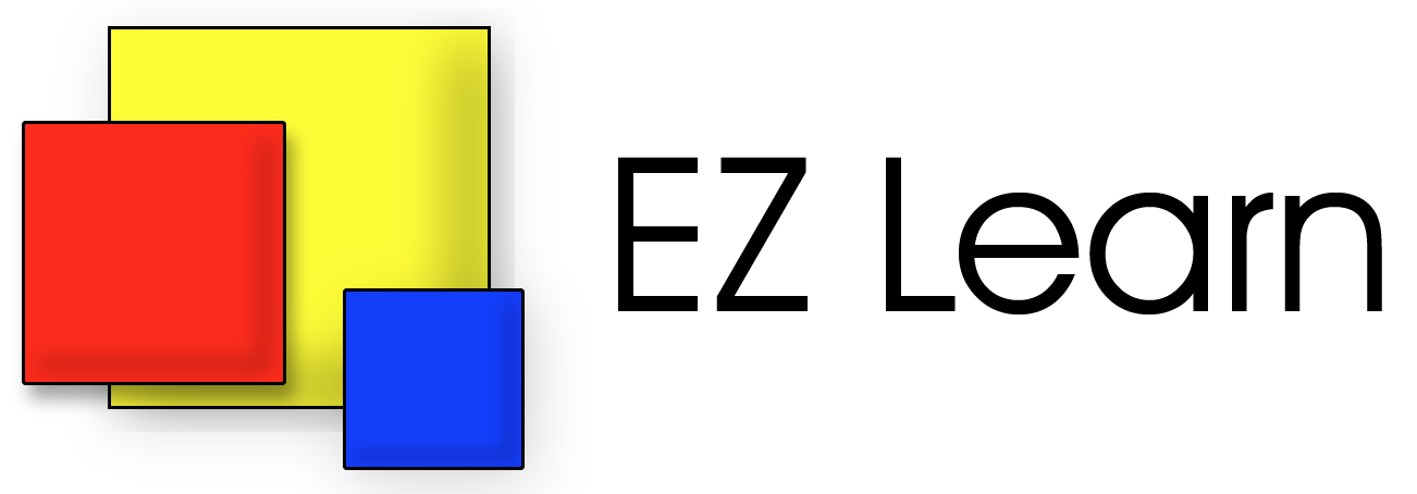 Logo for EZ Learn homeschool curriculum provider