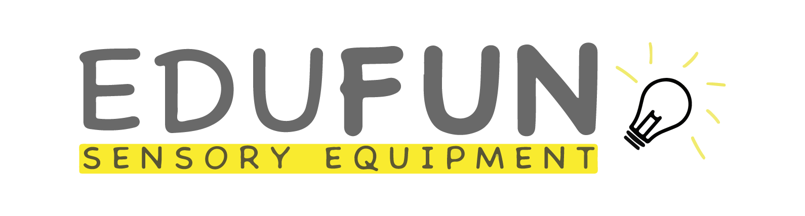 Logo for Edufun sensory equipment homeschool provider.